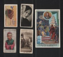 China cigarette cards tobacco & trade inserts